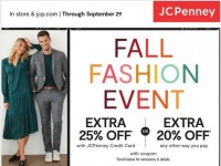 JCPenney (Fall Fashion) Flyer