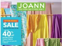 Jo Ann Fabrics and Crafts (Weekly Specials) Flyer