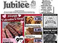 Jubilee Foods (Happy Valentine's Day) Flyer