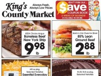 King's County Market (Happy Mother's Day) Flyer