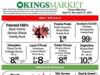 Kings Market (Special Offer) Flyer