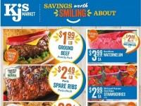 KJ´s Market (Hot Deals) Flyer