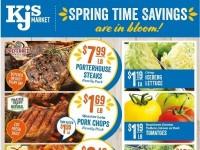 KJ´s Market (Spring time savings) Flyer