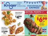Kroger (Star spangled savings) Flyer