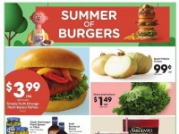 Kroger (Summer of burgers) Flyer