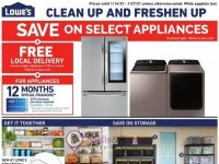 Lowe's (Clean Up And Freshen Up) Flyer