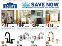 Lowe's (Save now) Flyer