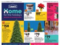 Lowe's (Season of Savings extended) Flyer