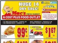 Mac's Fresh Market (14 days huge sale - AR) Flyer