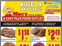 Mac's Fresh Market (Special Offer - AR) Flyer