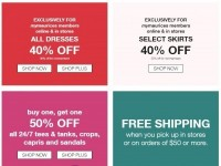 maurices (Promotional Offer) Flyer