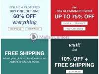 maurices (promotions) Flyer