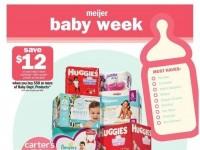 Meijer (Baby Week) Flyer