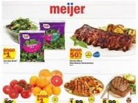 Meijer (Bogo Deals) Flyer