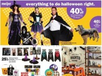 Meijer (Everything To Do Halloween Right) Flyer