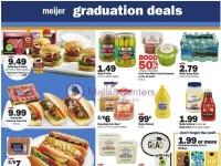 Meijer (Graduation Deals) Flyer