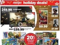 Meijer (Holiday Deals) Flyer