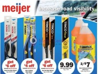 Meijer (Increase Road Visibility) Flyer