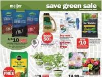 Meijer (Save Green Sale) Flyer