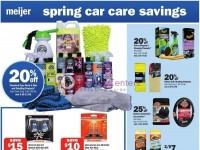 Meijer (Spring car care savings) Flyer