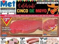 Met Foodmarkets (Celebrate Cinco De Mayo) Flyer