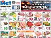 Met Foodmarkets (Get Ready For Halloween Fun) Flyer