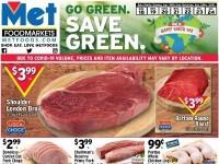 Met Foodmarkets (Go Green Save Green) Flyer