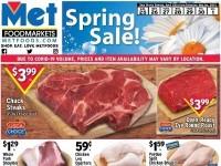 Met Foodmarkets (Spring Sale) Flyer