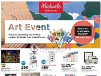 Michaels (Art Event) Flyer