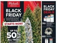 Michaels (Black Friday Week Starts Now) Flyer