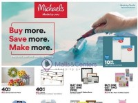 Michaels (Buy More Save More Make More) Flyer