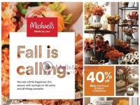 Michaels (Fall Is Calling) Flyer
