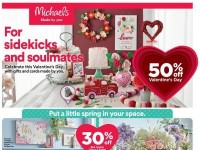 Michaels (For Sidekicks And Soulmates) Flyer