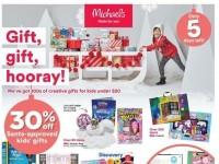 Michaels (Gift, Gift, Hooray) Flyer