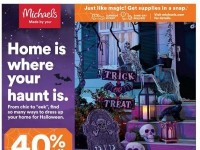 Michaels (Home Is Where Your Haunt Is) Flyer