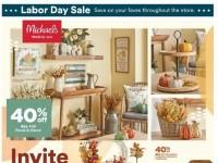 Michaels (Labor Day sale) Flyer