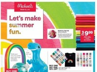 Michaels (Let's Make Summer Fun) Flyer