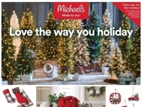 Michaels (Love The Way You Holiday) Flyer
