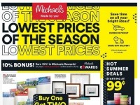 Michaels (Lowest Prices Of The Season) Flyer