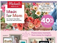 Michaels (Made For Mom) Flyer