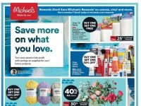 Michaels (Save More On What You Love) Flyer