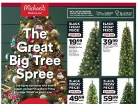 Michaels (The Great Big Tree Spree) Flyer