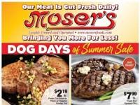 Moser's Foods (Bringing you more for less) Flyer
