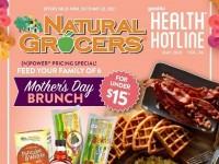 Natural Grocers (Mother's Day Brunch) Flyer