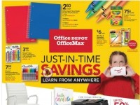Office Max (Just In Time Savings) Flyer