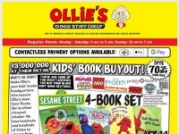Ollie's Bargain Outlet (Weekly Specials) Flyer
