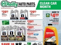 O'Reilly Auto Parts (better parts better prices everyday - CA) Flyer