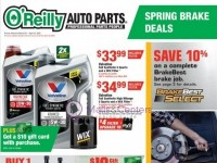 O'Reilly Auto Parts (better parts, better prices, everyday - CA) Flyer