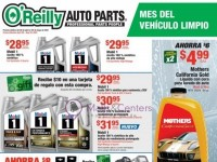 O'Reilly Auto Parts (sigue adelante con oreilly-ca) Flyer