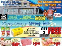 People's Choice (Easter & Spring Savings) Flyer